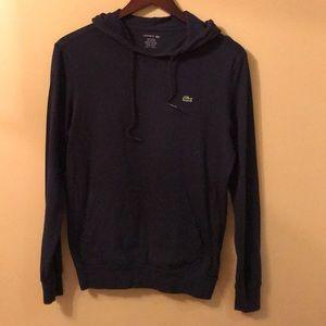 Lacoste men's cotton hoodie.